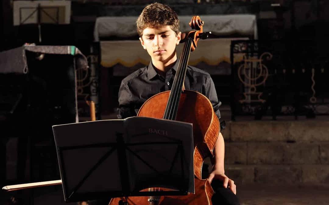 Marceau Maréchal, jeune et talentueux violoncelliste normand