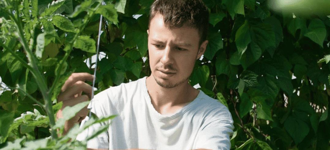 Julien Lach, agriculteur et végétaliseur urbain